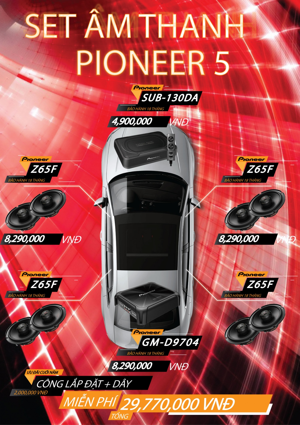âm thanh pioneer
